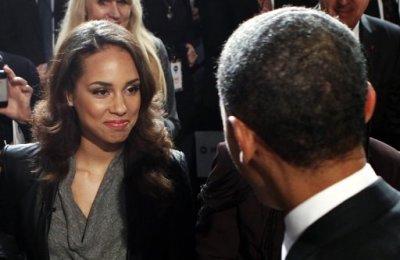 Alicia Keys, Obama