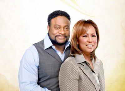 Bishop Eddie Long and Wife Vanessa Long