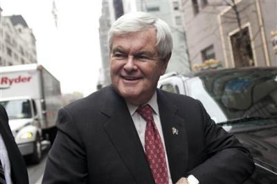 Republican presidential candidate Newt Gingrich
