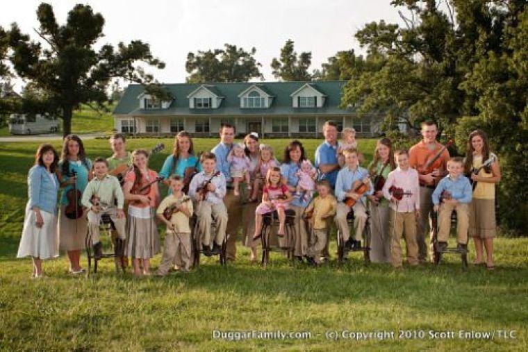 The Duggar Family Portrait 2010