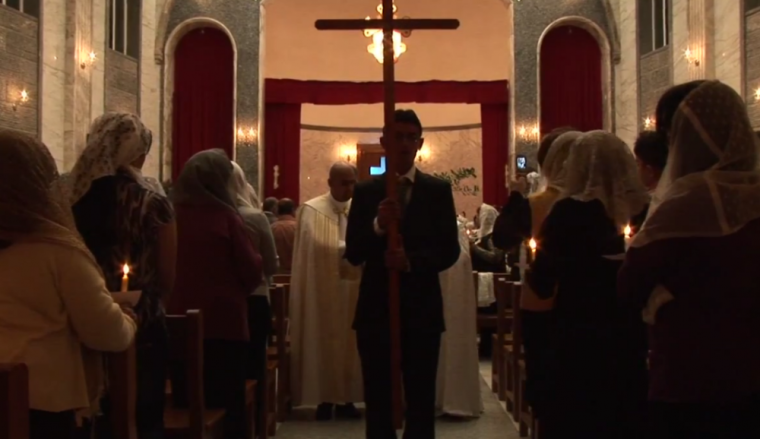 christians in iraq church - DO NOT USE THIS IMAGE FOR OTHER PURPOSES