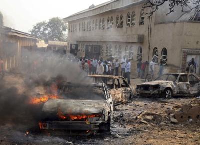 Nigeria Church Bomb