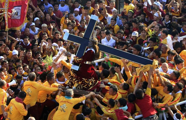 The feast of the Black Nazarene