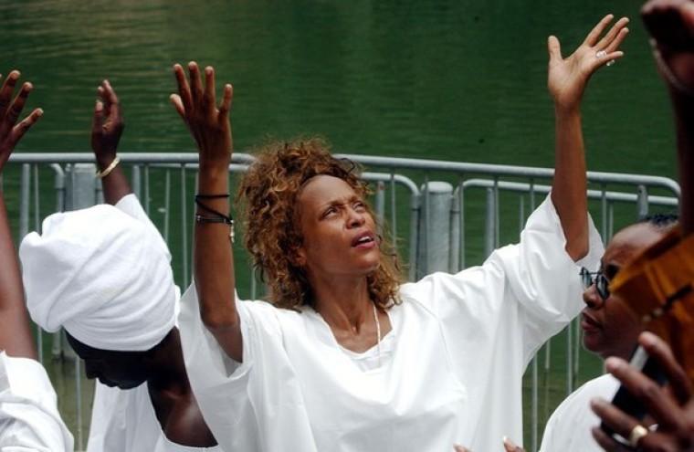 Whitney Houston Baptized