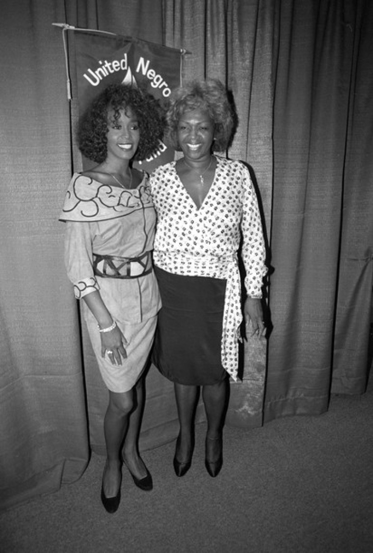 Whitney Houston and Mother