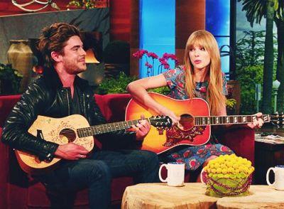 Taylor Swift og Zac Efron dating