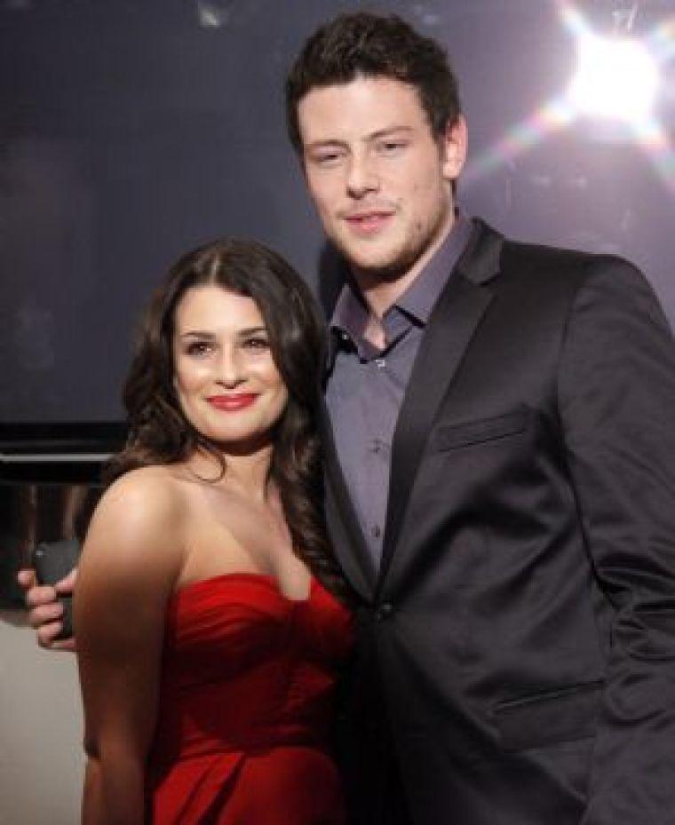 'Glee' stars Lea Michele and Cory Monteith
