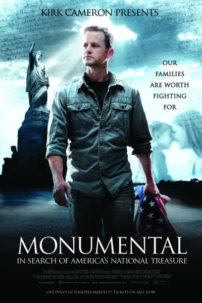 The promotional poster for Kirk Cameron's documentary,