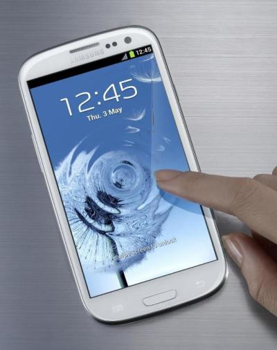 Official Image of the Samsung Galaxy S3