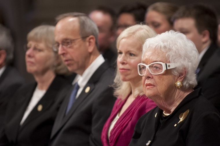 Patty Colson, Chuck Colson Memorial