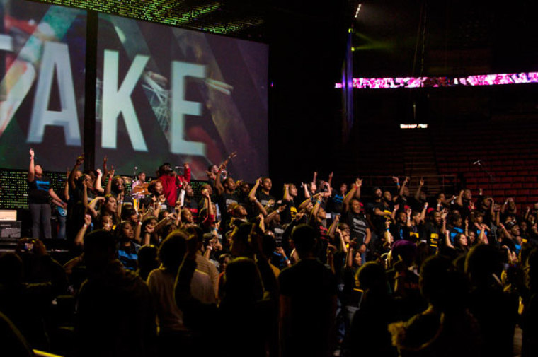 acquire the fire, teen mania