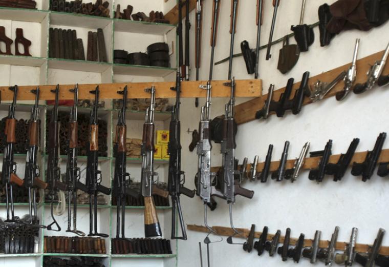 Firearms guns