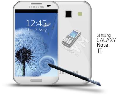 Samsung Galaxy Note 2 Concept
