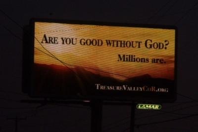 Nampa Idaho CoR Billboard