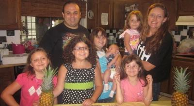 Michael Salman family