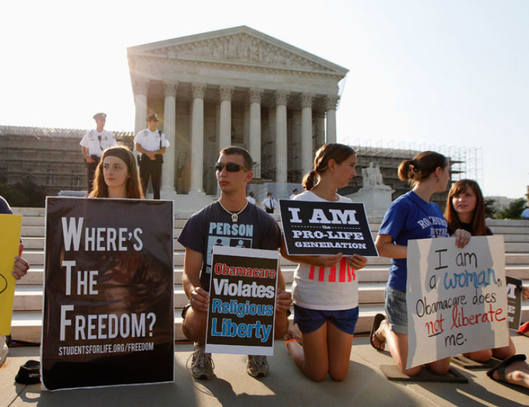 health care religious freedom contraception mandate