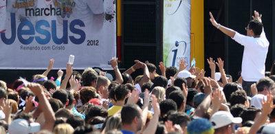 brazil evangelical march for jesus