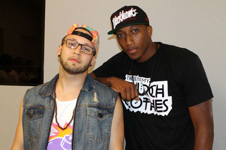 Andy Mineo and Lecrae Apple Store NYC