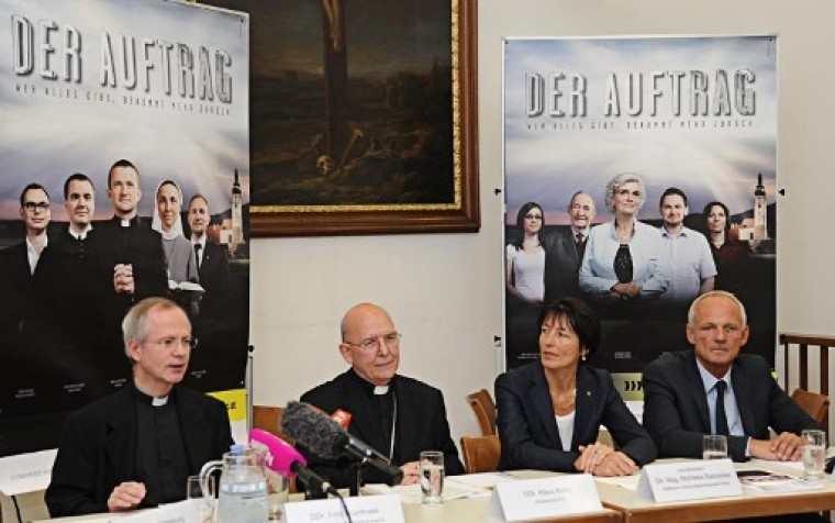 Austrian Clergy Billboards