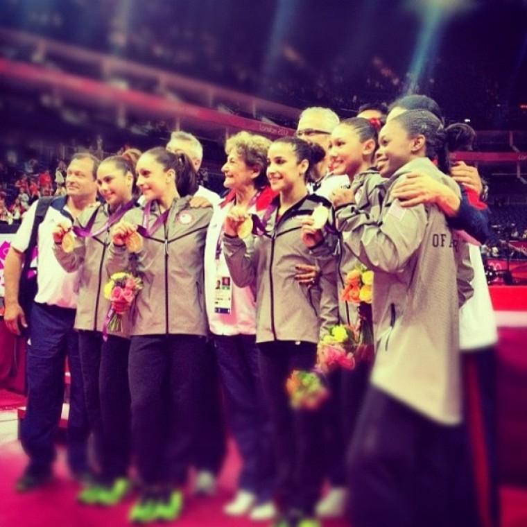 U.S. Women's Gymnastics Team 'Fab Five'