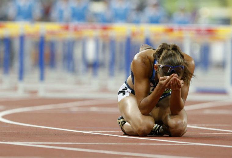 Lolo Jones 2008 Beijing Loss