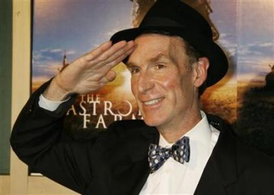 Television personality and mechanical engineer Bill Nye