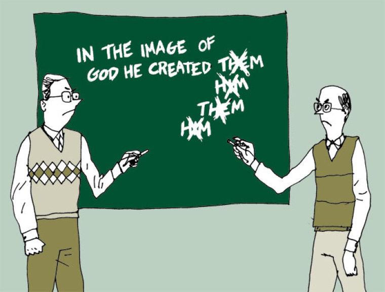 A Biblical Battle of Pronouns