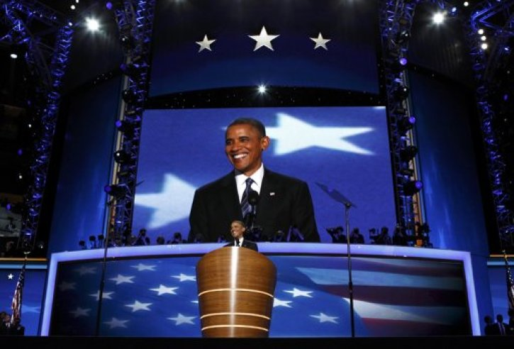 Obama DNC Speech Transcript Text, Video: Acceptance Speech