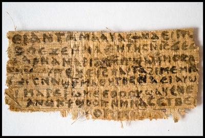 papyrus, Jesus' wife