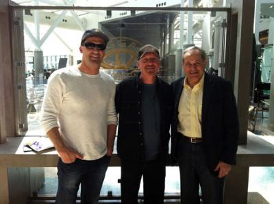 Atlas Shrugged II producers, Harmon Kaslow, Jeff Freilich and John Aglialoro.