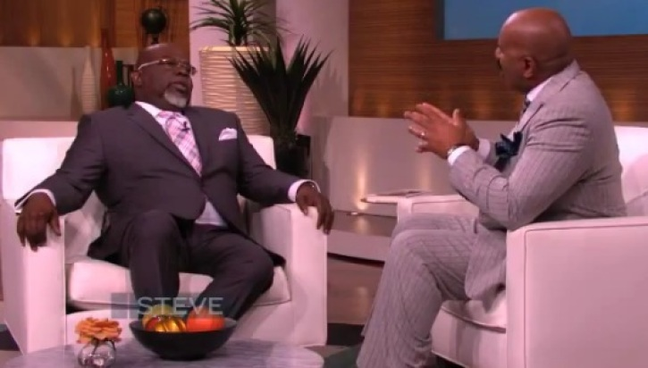 TD Jakes Compares Forgiveness to Accounting on 'Steve Harvey