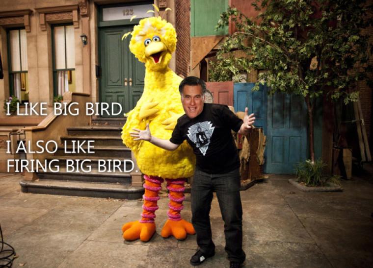 Romney Big Bird 2