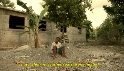 haiti, first world problems