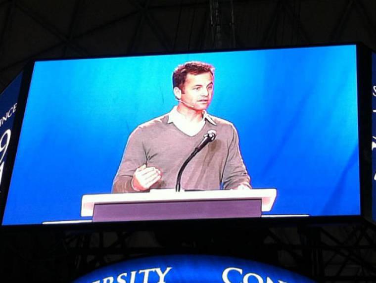 Kirk Cameron at Liberty University