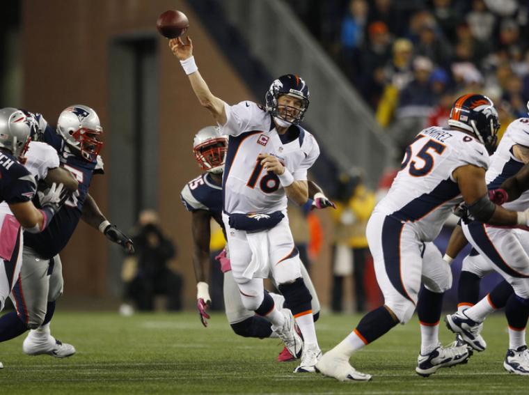 Denver Broncos Peyton Manning NFL Football