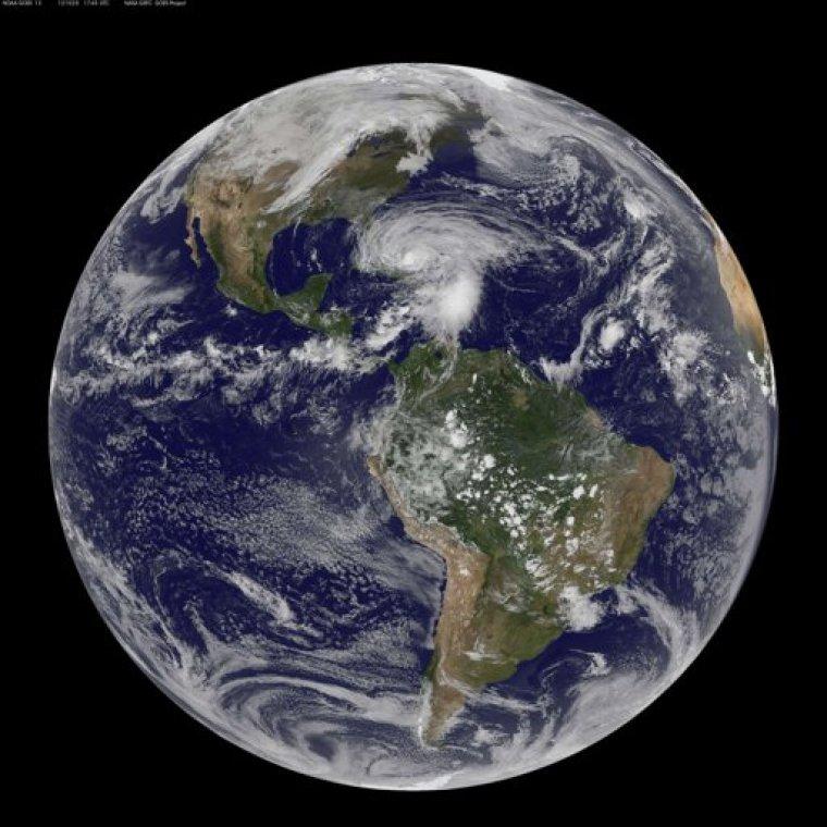 Hurricane Sandy Earth