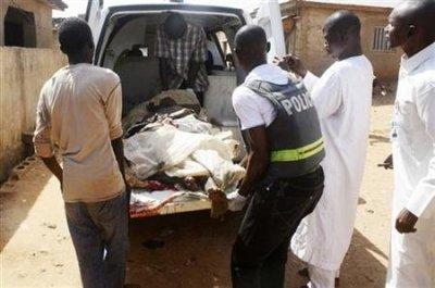 Nigeria Church Bomb Attack