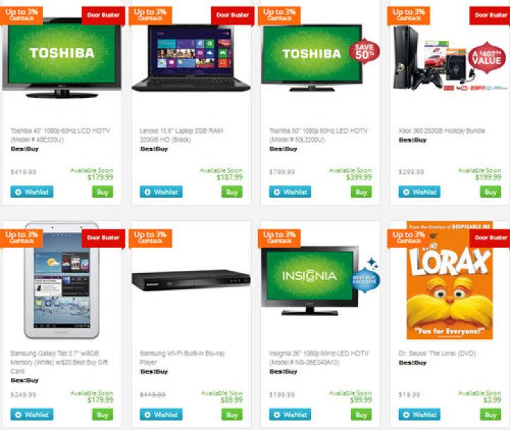 Black Friday 2012 Deals: Walmart, Best Buy, Target Slash