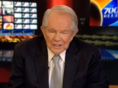 Pat Robertson, host of 'The 700 Club'