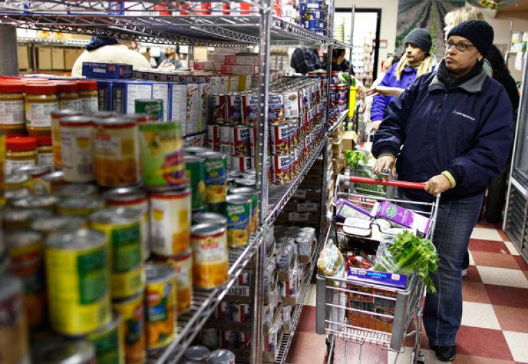 food bank food pantry
