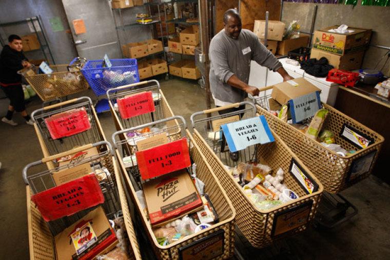 food bank food pantry poverty