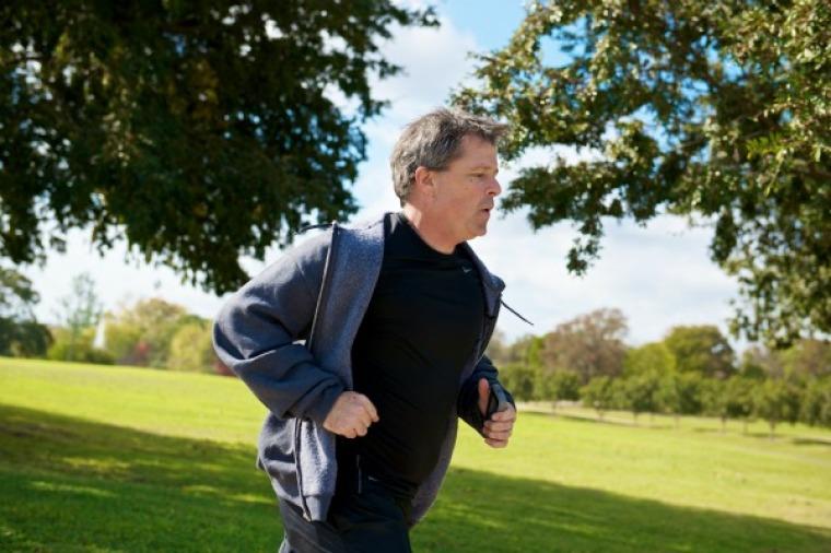 Ron Luce running