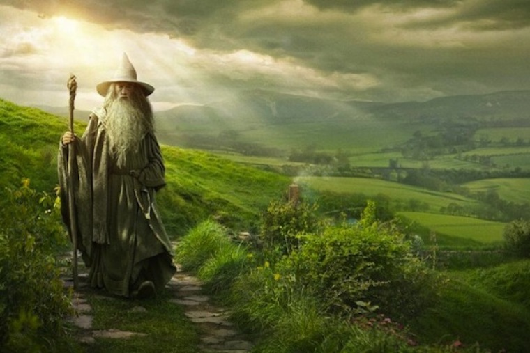 'The Hobbit: An Unexpected Journey' Movie Poster