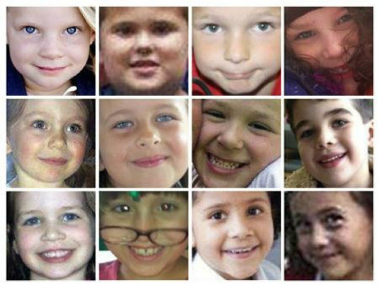 Sandy Hook Victims - Composite of 12