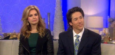 Joel and Victoria Osteen on the Dec. 17 airing of NBC's