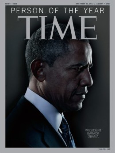"President Barack Obama Time Magazine ""Person of the Year"""
