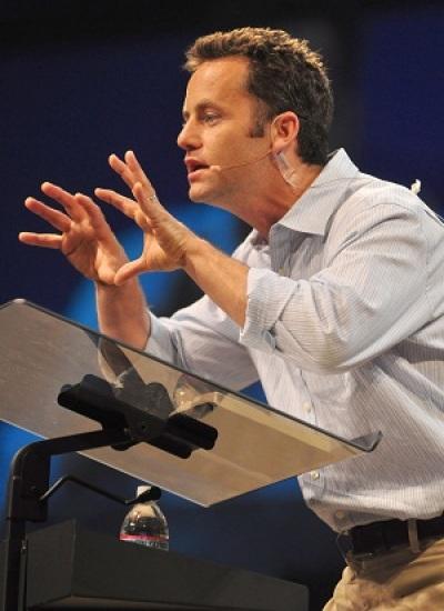 Actor and speaker Kirk Cameron