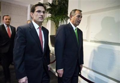 John Boehner and Eric Cantor