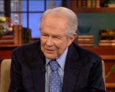 """Pat Robertson, host of """"The 700 Club"""""""