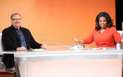 Rick Warren and Oprah Winfrey
